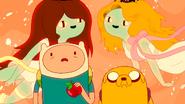 S3e25 Finn, Jake, and Fruit Babes