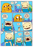 Adventure time comic page 8