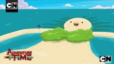 Island Lady Adventure Time Cartoon Network