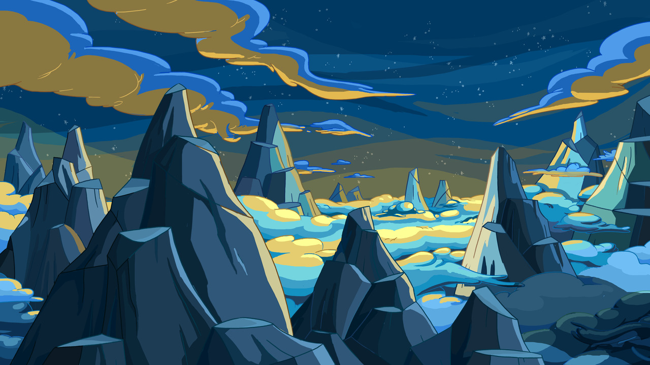 Image Hug Wolf Mountain Region Background Png Adventure Time