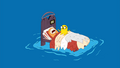 S1e16 Finn and Jake on bed in ocean.png