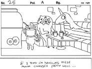 Abstract Storyboard Panel