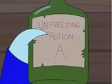 Unfreezing Potion A