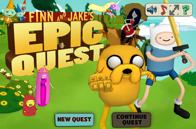 File:Finn and Jake's epic quest title screen.png