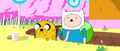 S1e19 Finn and Jake in moat.png