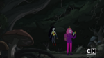 S5 e29 PB and Marcy inside the tree