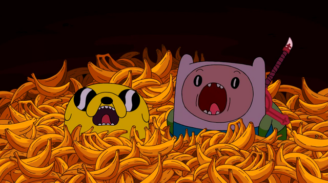 File:Finn and Jake Bananas.png