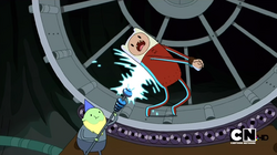 S2e7 finn being tasered