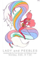 Lady peebles promo art rebeccasugar