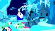 S3e4 Ice King freezing Scorcher