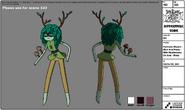 Huntress Wizard modelsheet(5)