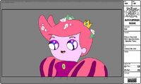 Modelsheet princegumball withsparklyeyes - specialpose