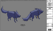 Modelsheet elderwolf withrims