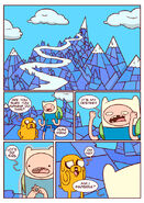 Adventure time comic page 7