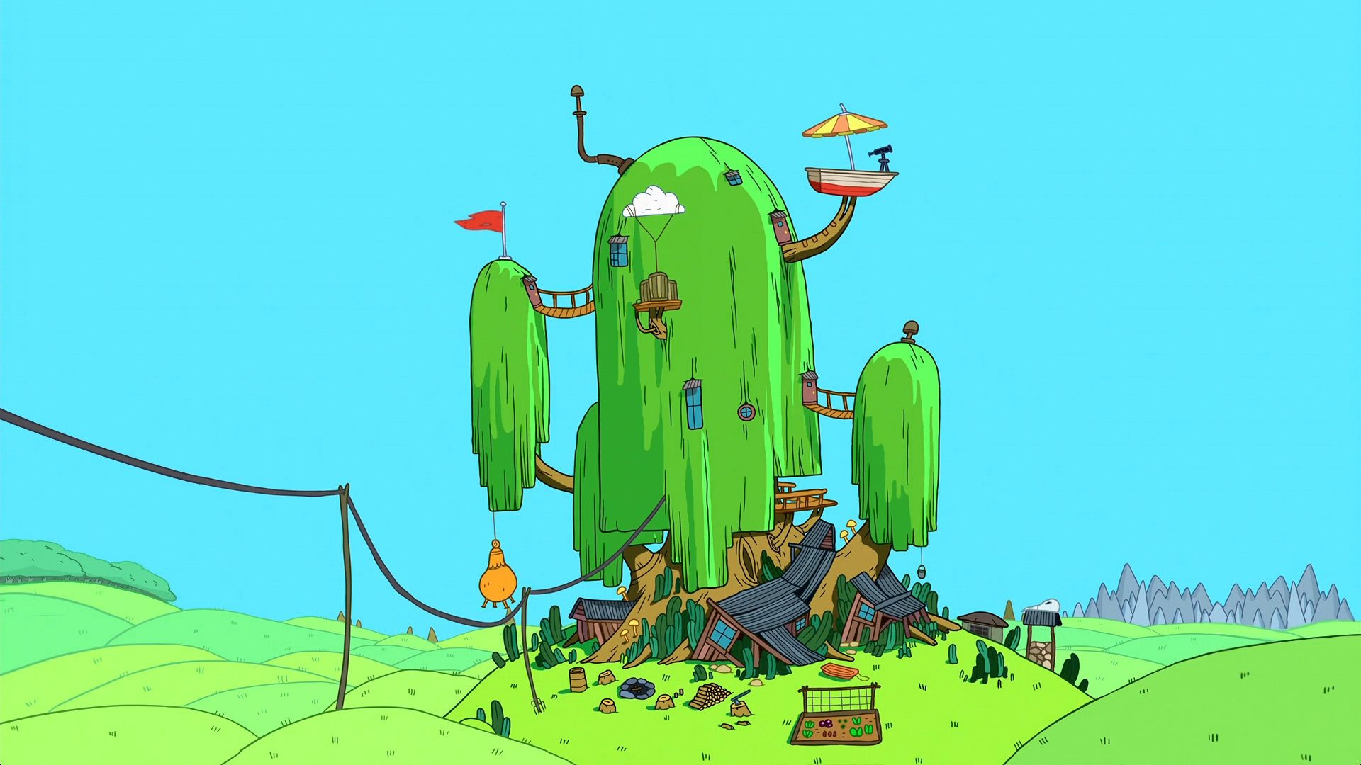 Image S7e33 Tree House Png Adventure Time Wiki