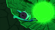 S8e27 Finn holding on very tight from falling in to well of power