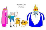 Adventure Time Line Up
