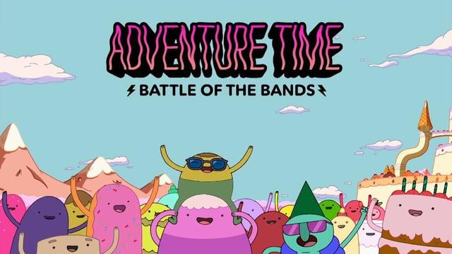 Adventure Time - Battle of the Bands - 30 Promo