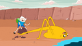 S4 E21 Jake mud catapult.PNG
