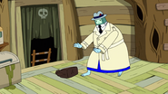 S10e2 Ice King knocking over bag