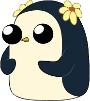 penguin with flower adventure time wiki fandom powered by wikia
