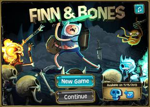 finn bones adventure time wiki fandom powered  wikia