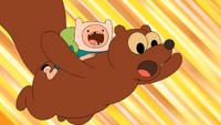 S5e4 Finn and squirrel falling