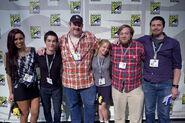 Adventure Time Crew at Comic-con 2011