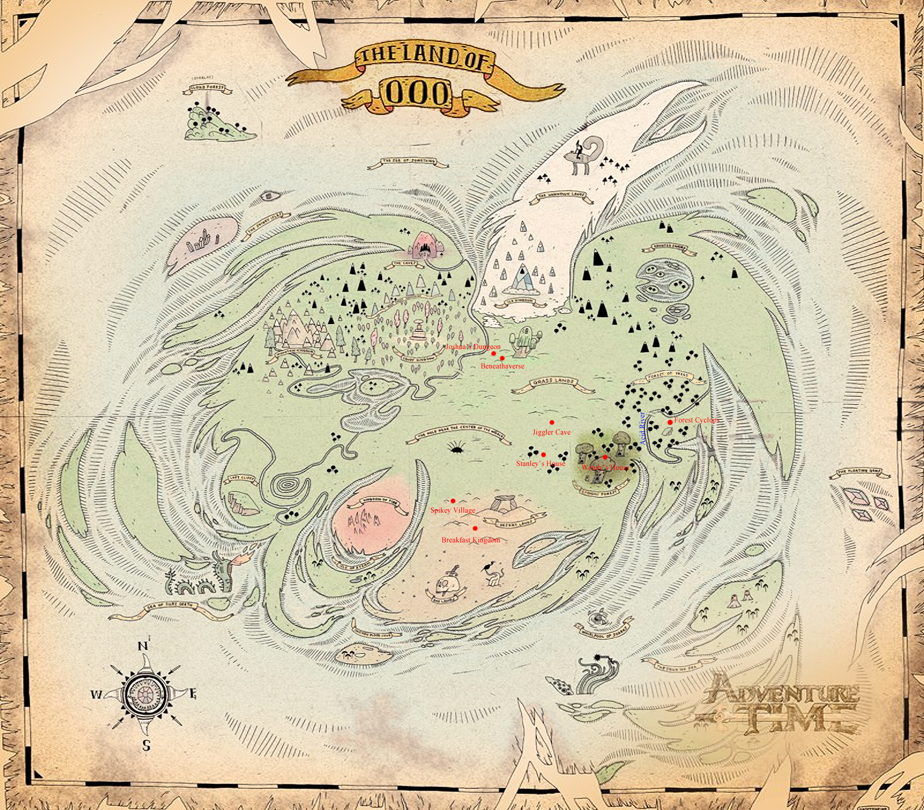 User blog:PrismosPickles/Making a Complete Map of Ooo? | Adventure ...