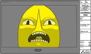 Modelsheet Lemongrab Close up with Rims