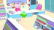 S5e25 Ann serving customer in Candy Drugstore