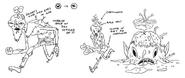 Little Dude concept art by character & prop designer Michael DeForge (1)