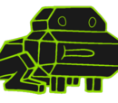 Video Game Frog