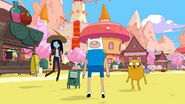 Adventure Time Pirates of the Enchiridion-Finn, Jake, Marcy, and BMO.