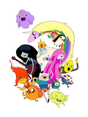 File:Adventure time by lanbridge-d4zc6op.jpg