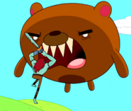 S1e25 Billy fighting a bear