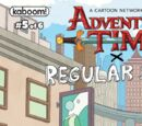 Adventure Time/Regular Show Issue 5