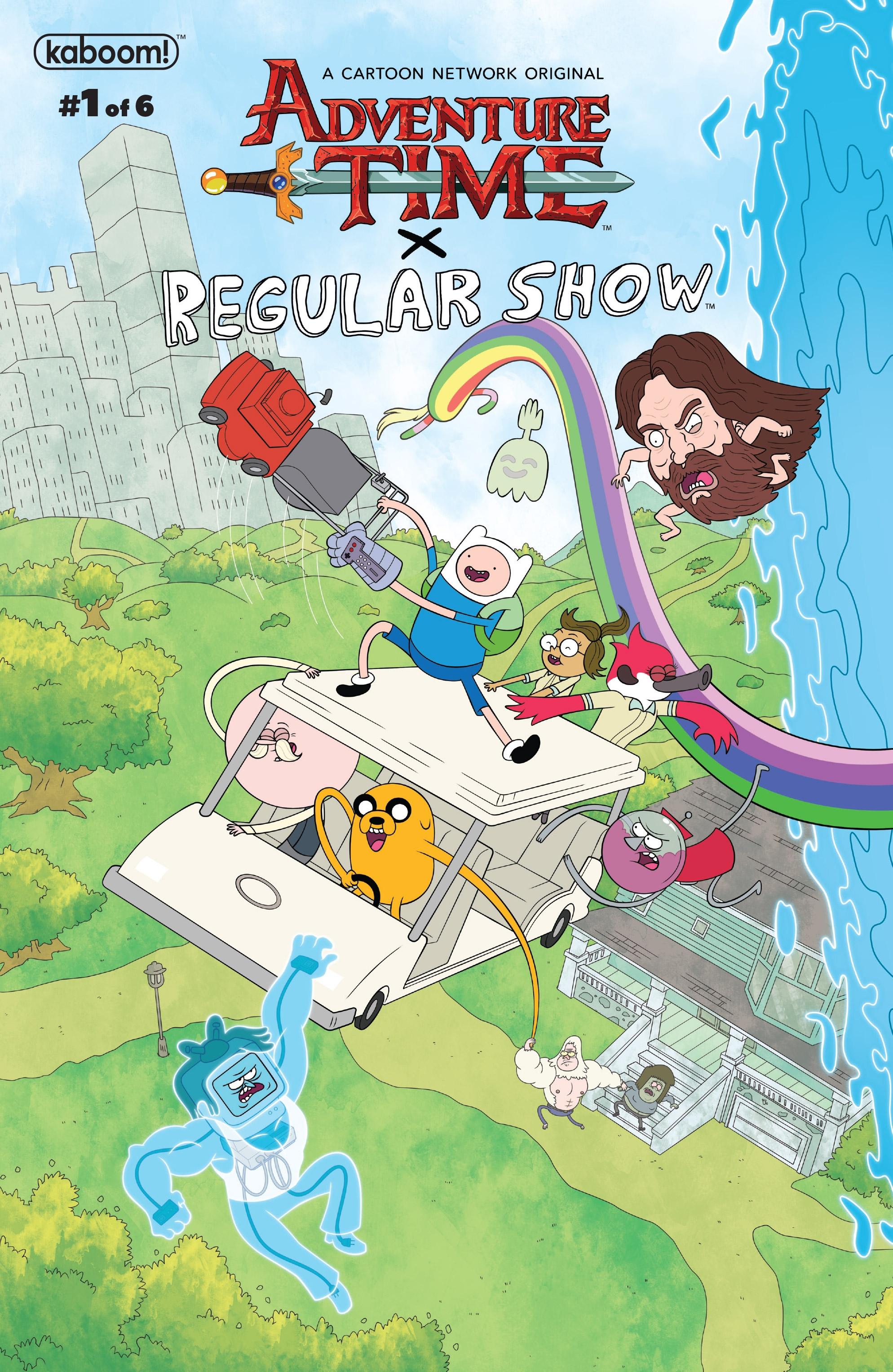 eeec047af72ceb Adventure Time Regular Show Issue 1