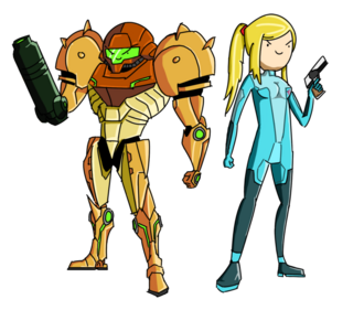 Adventure time samus by xluigibobx-d3jgaxt