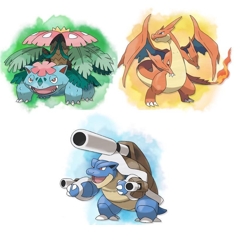 Image 99353 pokemon x and y kanto starters mega evolution revealed photo credit - Evolution pokemon xy ...
