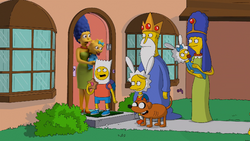 AT in Simpsons