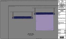Modelsheet waxpaperscreen