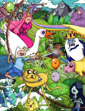 Adventure time 3 by fred weasley