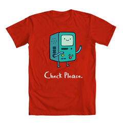 Image bmo check please red shirtg adventure time wiki other resolutions 240 240 pixels altavistaventures Image collections