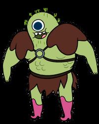 Gork-humanoid