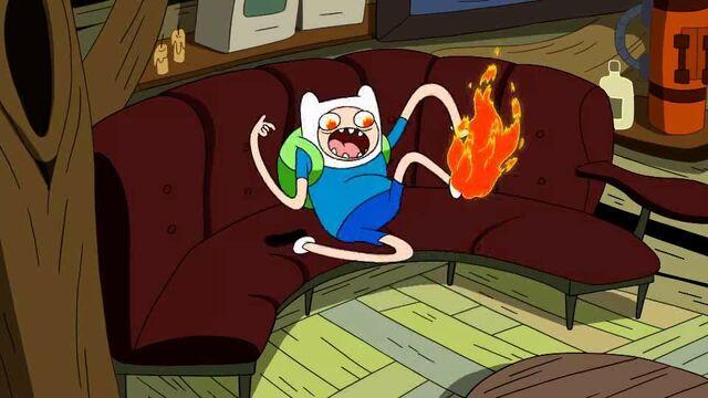File:MY GOD! MY FOOT IS ON FIRE!!!.jpg