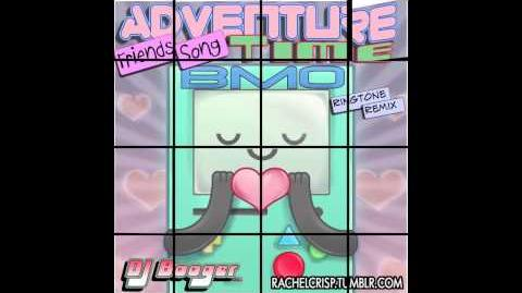 Adventure Time BMO Friends Song Remix