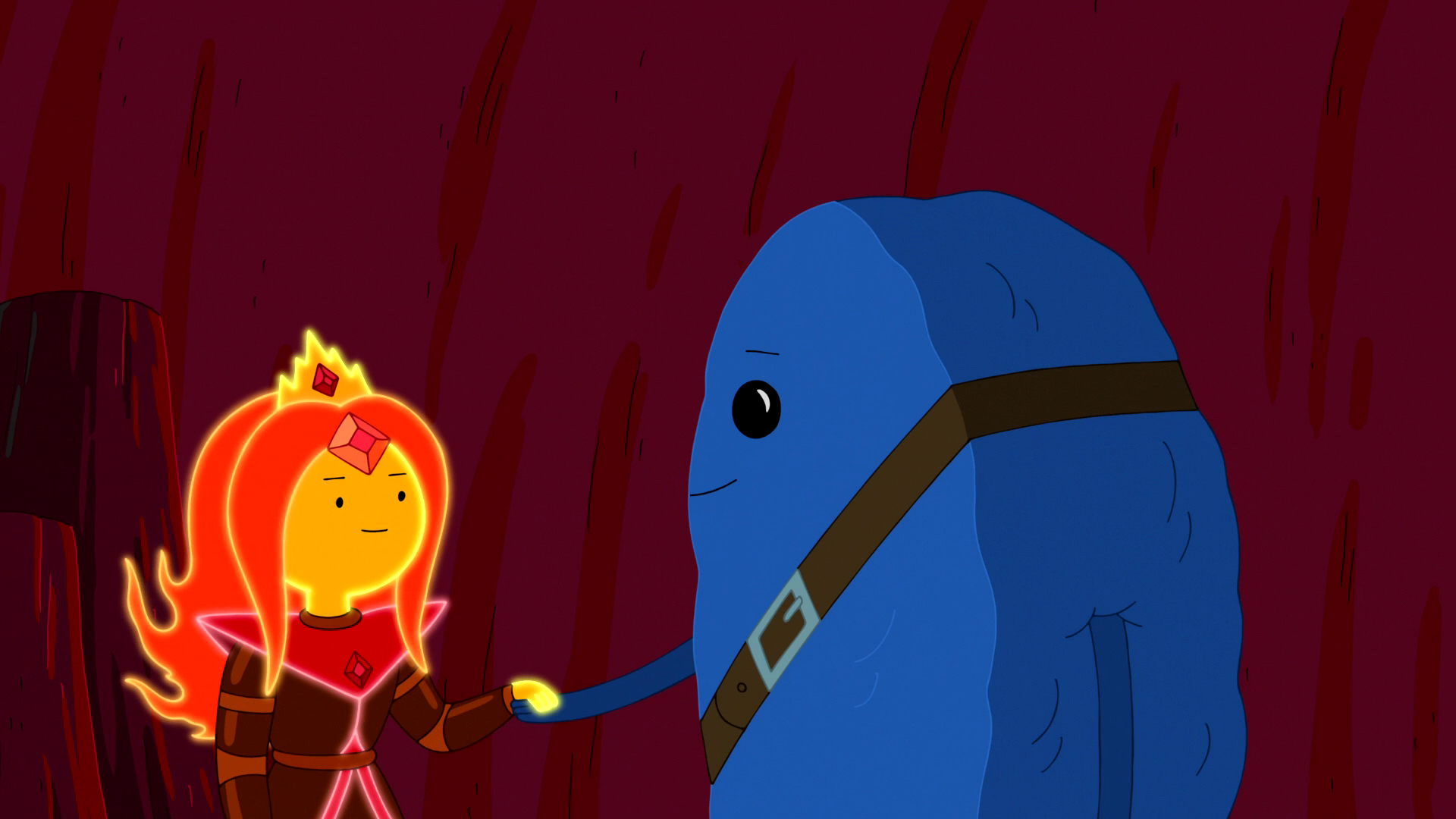 Is flame princess dating cinnamon bun cookies