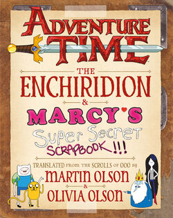 Adventure Time Enchiridion & Marcy's Scrapbook