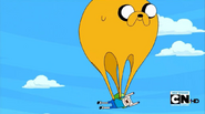 S4 E7 Jake as a parachute